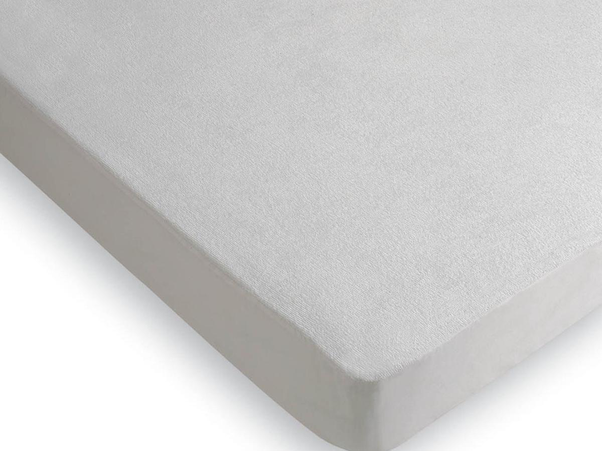 Protector Colchón Rizo PVC