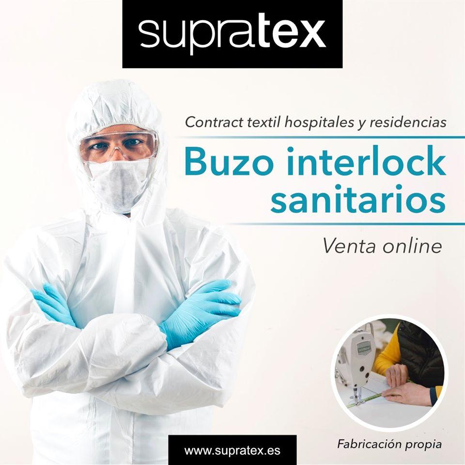 Supratex fabrica textiles sanitarios para hospitales y residencias